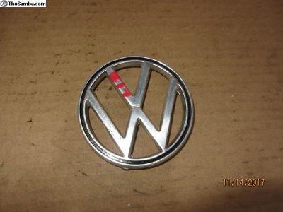 bug hood emblem B17