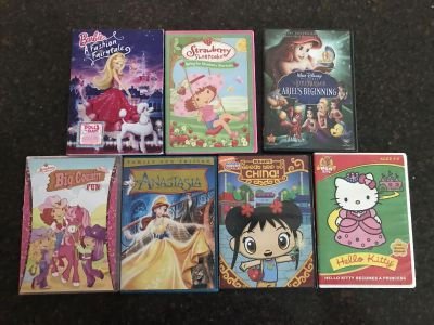 Girls DVDs. $3 for all. Cross posted.