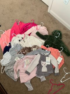 Girl 12-18 month lot