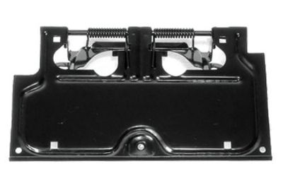 Sell Rugged Ridge 11233.01 - 87-95 Jeep Wrangler Black License Plate Bracket motorcycle in Suwanee, Georgia, US, for US $17.28