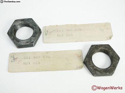 NOS Bus Wheel Bearing Hex Nut 1955 to 1962