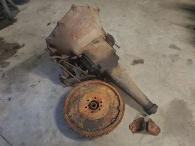 55-57 chevy 3 speed manual transmission with linkage