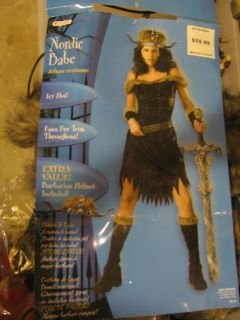 Nordic Babe Costume (with extras)Size 12-14