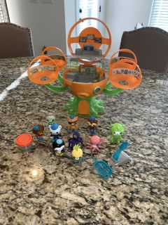 Octonauts Sea Station with figures and slime
