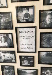 KIRKLAND'S PHOTO COLLAGE FRAME