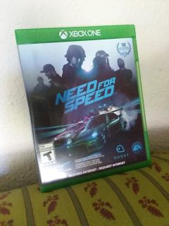 X-Box One Need for Speed Game