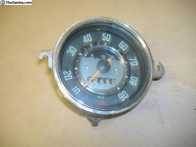 VW Bug 1968 speedometer fits 68-74 yr