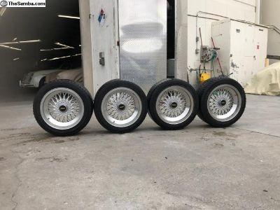 Enkei BBS style Mesh Alloy Wheels