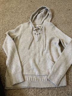 Hollister hoodie sz small $8 and old navy striped one small $6