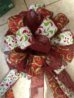 Large Tree Topper Bow