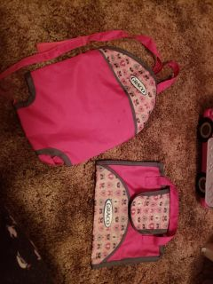 Graco baby doll carrie and bag