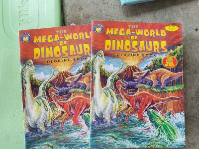2 new coloring books