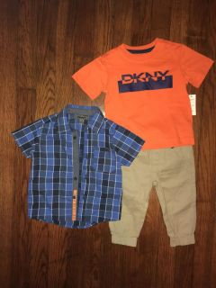 DKNY 12 months, set of 3