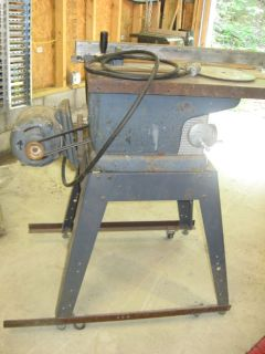 """LARGE 10"""" TABLE SAW"""