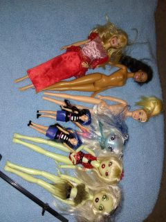 Barbie lot with pets