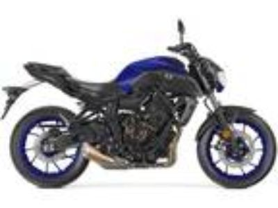 New 2018 Yamaha MT-07