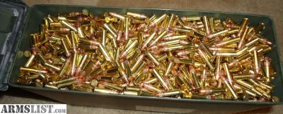 For Sale: 3150rds - Federal Champion 22lr 36gr CPHP in New 30cal Ammo Can