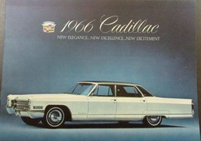 Buy 1966 Cadillac Fleetwood DeVille Calais Series Color Sales Brochure Original motorcycle in Holts Summit, Missouri, United States, for US $18.00
