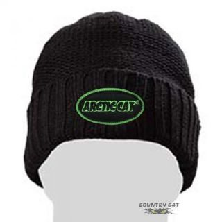 Purchase Arctic Cat Watchman Beanie Hat Fleece Lined Black & Green - One Size - 5243-075 motorcycle in Sauk Centre, Minnesota, United States, for US $6.99