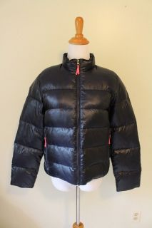 Crewcut Puffer Jacket. Black size 4/5 Brand New