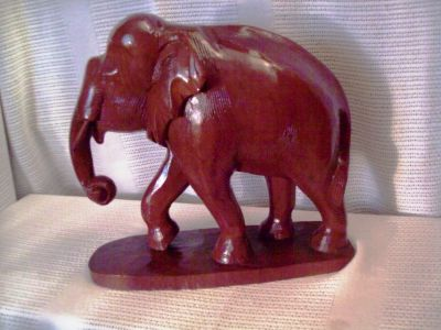 #3 Large Teakwood ELEPHANT
