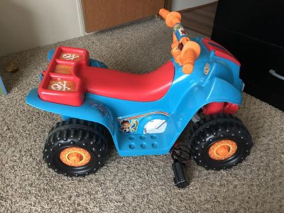 Jack and the Neverland Pirates power wheels