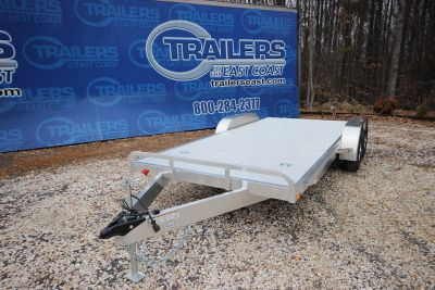 2018 ATC All Aluminum Open Car Hauler 8.5 x 18ft