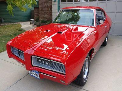 1968 Pontiac GTO 2 Door Hardtop
