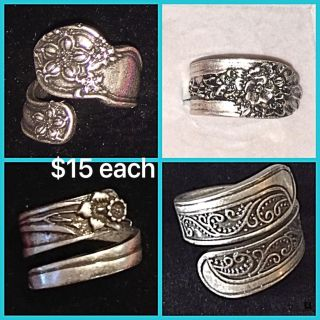 Spoon rings & necklaces ( & MORE)