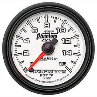"Sell Autometer Phantom II Pyro 2-1/16"" full sweep electrical 0 -1600 F 7544 motorcycle in Winchester, KY, US, for US $169.99"