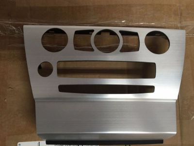 Purchase BMW E63 E64 04-09 645 650 CENTER CONSOLE DASH TRIM COVER AC SILVER RADIO OEM CCC motorcycle in Friendswood, Texas, United States, for US $80.00