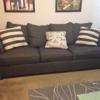 $1,100, Grey sofa and matching Loveseat with matching chair