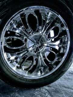 22 inch chrome rims