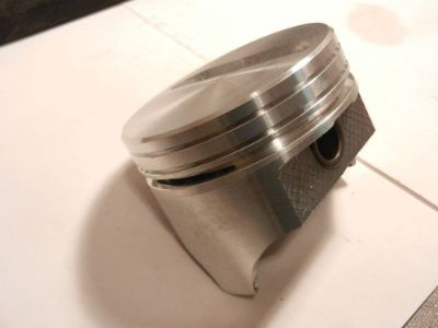 Sell DYNAGEAR/BADGER HYPEREUTECTIC PISTONS SBC 383 FLAT .STD CLAIMER SERIES USA MADE motorcycle in Moline, Illinois, United States, for US $139.00