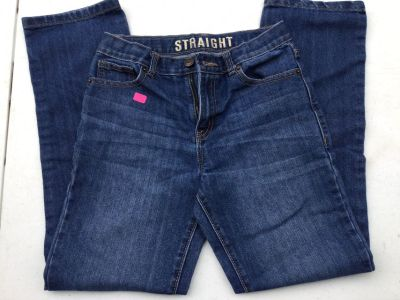 Boys straight fit jeans, sz 12