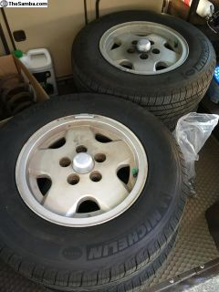 Wheels and New Tires
