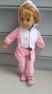 Various American Girl Doll outfits