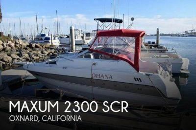 1993 Maxum 2300 SCR