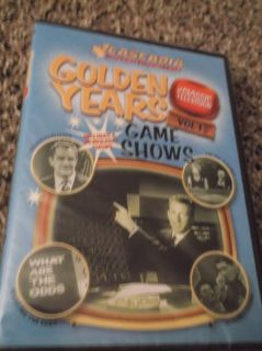 GOLDEN YEARS GAME SHOWS