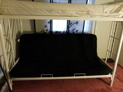 Bunk Bed and Futon Combo