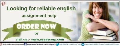 Are you looking for the reliable English assignment help?