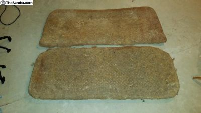 Split Back Seat Horsehair padding set