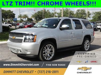 2014 Chevrolet Tahoe LTZ (Silver Ice Metallic)