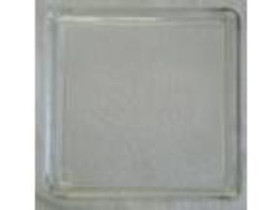 "15 3/8"" x 14"" Microwave Plate Rectangle Tray Dish Platter"