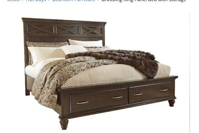 ISO king size bed