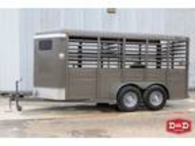 2019 Ranch King Trailers 16 Ft Stock Trailer