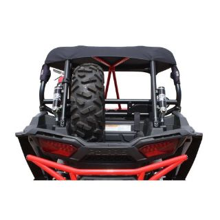 Sell DragonFire Bed Mount Spare Tire Carrier Black | Polaris RZR XP 4 1000 2014 2015 motorcycle in Berea, Ohio, United States, for US $139.99