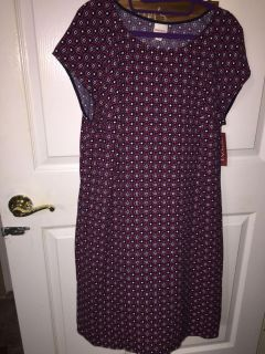 New with tags, size XL dress, Merona brand, from Target