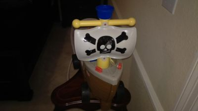 Pirate boat scooter