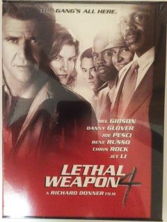 Lethal Weapon 4 DVD new sealed